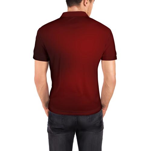 Мужская рубашка поло 3D  Фото 04, Венецианская маска