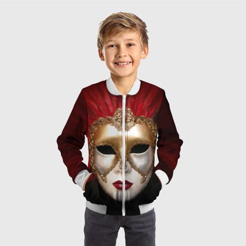 Детский бомбер 3D  Фото 05, Венецианская маска