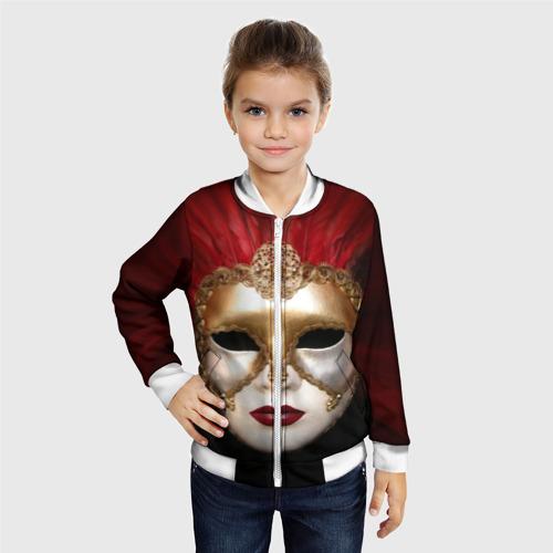 Детский бомбер 3D  Фото 06, Венецианская маска