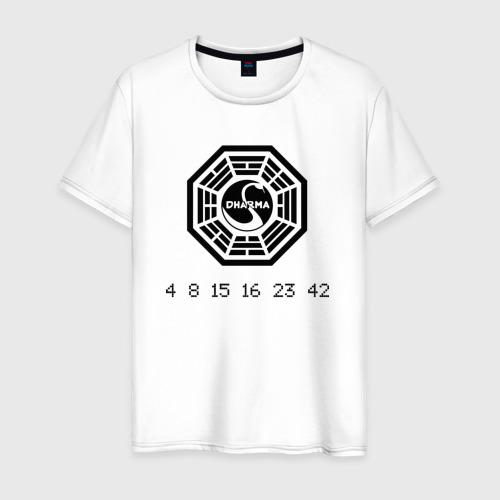 Мужская футболка хлопок Дхарма Фото 01