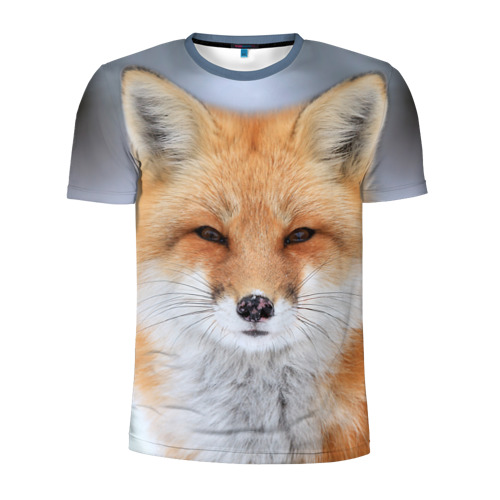 Мужская футболка 3D спортивная  Фото 01, Лиса