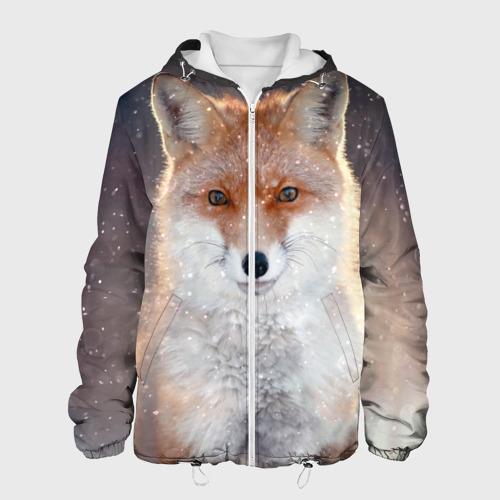 Мужская куртка 3D  Фото 01, Лиса