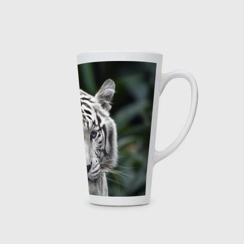 Кружка Латте  Фото 02, Белый тигр