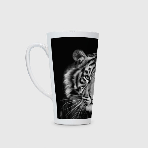 Кружка Латте  Фото 01, Тигр