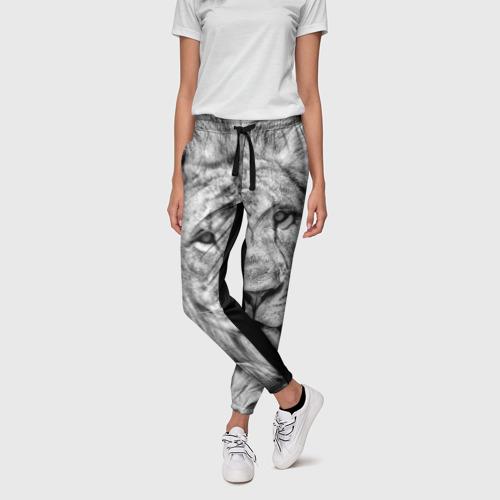 Женские брюки 3D  Фото 01, Лев