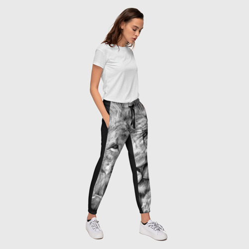 Женские брюки 3D  Фото 03, Лев
