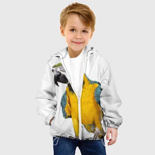 Детская куртка 3D  Фото 03, Попугай ара