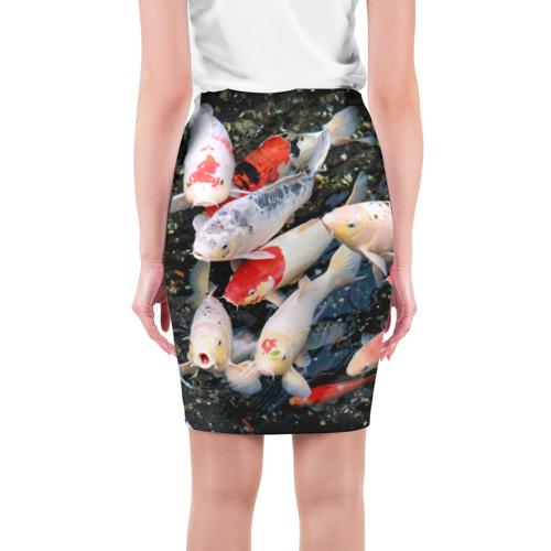 Юбка 3D  Фото 02, Koi Fish (карпы кои)