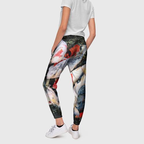 Женские брюки 3D Koi Fish (карпы кои) Фото 01