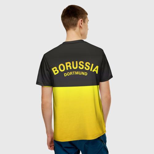 Мужская футболка 3D  Фото 02, Borussia Dortmund FC