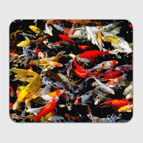Коврик для мышки прямоугольный  Фото 01, Koi Fish (карпы кои)