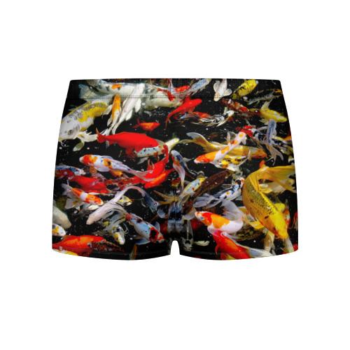 Мужские трусы 3D  Фото 02, Koi Fish (карпы кои)