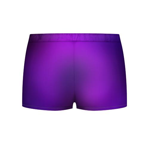 Мужские трусы 3D  Фото 02, Пурпурный