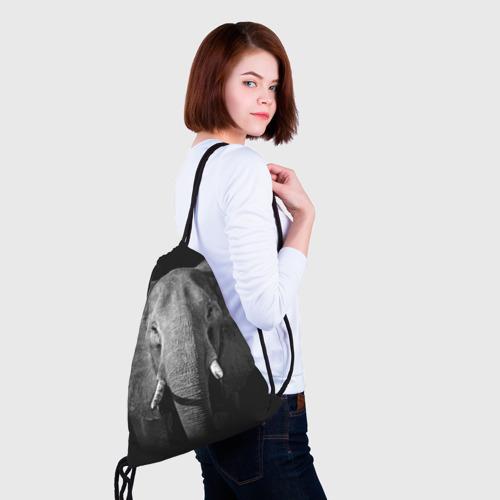 Рюкзак-мешок 3D  Фото 02, Слон
