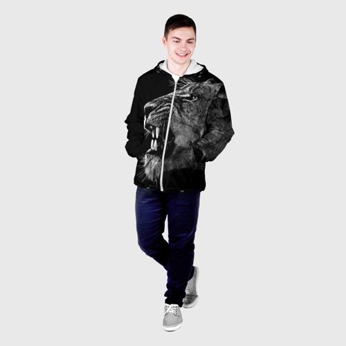 Мужская куртка 3D  Фото 03, Львица