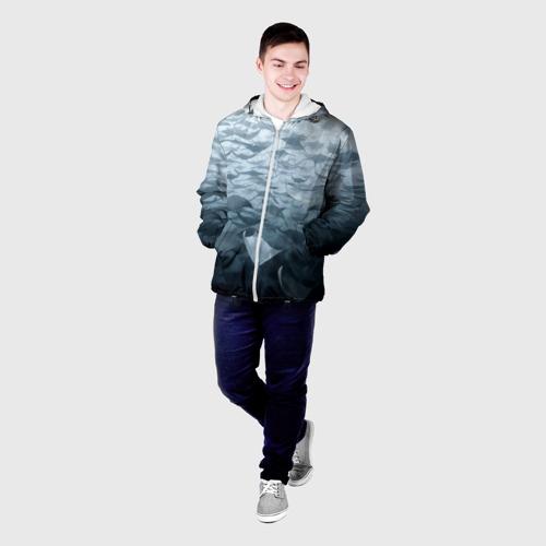 Мужская куртка 3D  Фото 03, Электрические скаты