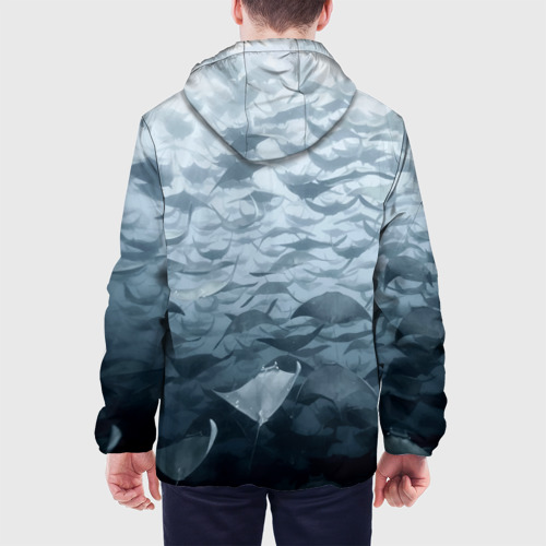 Мужская куртка 3D  Фото 05, Электрические скаты