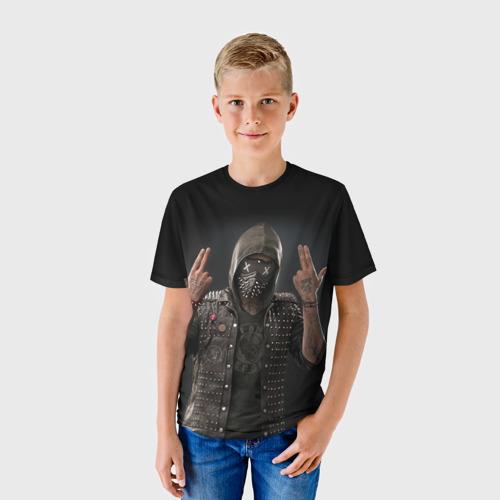 Детская футболка 3D WatchDogs