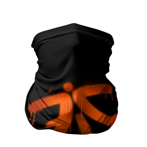 Бандана-труба 3D cs:go - Fnatic (Black collection)
