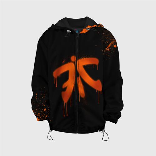 Детская куртка 3D cs:go - Fnatic (Black collection)