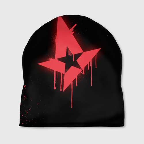 Шапка 3D cs:go - Astralis (Black collection)