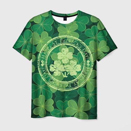 Мужская футболка 3D Ireland, Happy St. Patrick's Day
