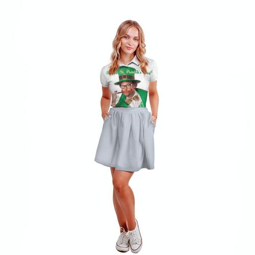 Женская рубашка поло 3D  Фото 04, Ирландия