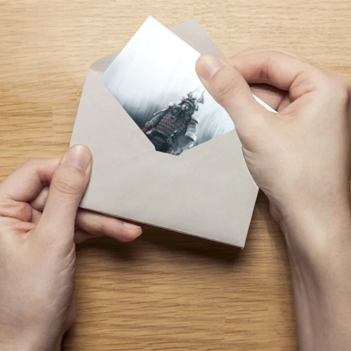 Поздравительная открытка Shadow Tactics Фото 01