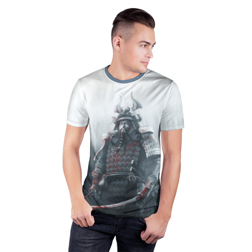 Мужская футболка 3D спортивная Shadow Tactics Фото 01