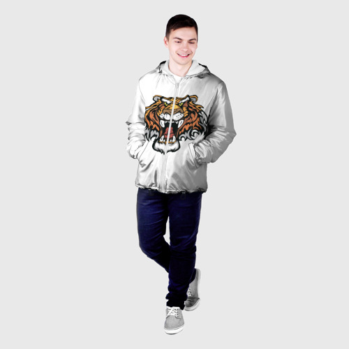 Мужская куртка 3D  Фото 03, Тигр