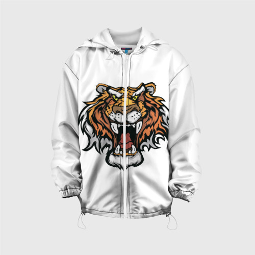 Детская куртка 3D  Фото 01, Тигр
