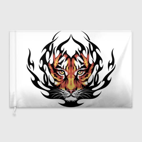 Флаг 3D Король джунглей Фото 01