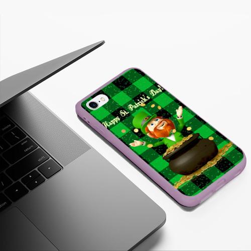 Чехол для iPhone 6Plus/6S Plus матовый Ирландия Фото 01