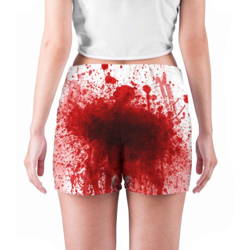 Женские шорты 3D  Фото 04, зомбиапокалипсис