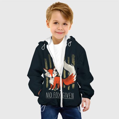 Детская куртка 3D  Фото 03, No Fox Given