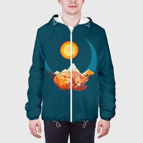 Мужская куртка 3D  Фото 04, Лиса под солнцем