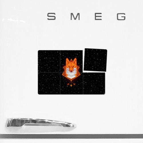 Магнитный плакат 3Х2  Фото 02, Огненный лис