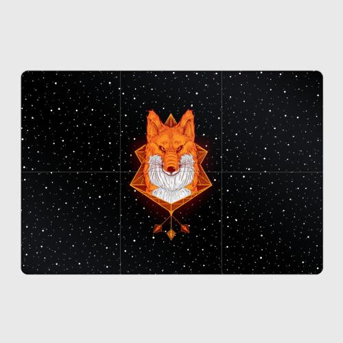 Магнитный плакат 3Х2  Фото 01, Огненный лис
