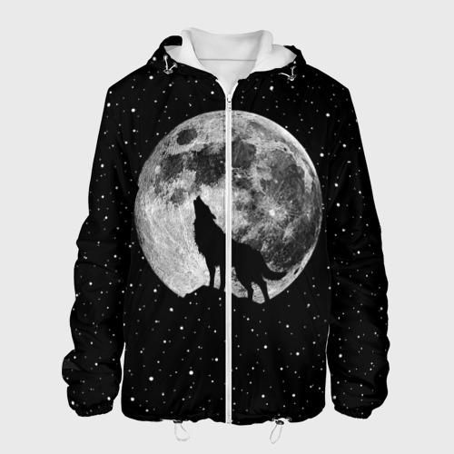 Мужская куртка 3D  Фото 01, Лунный волк