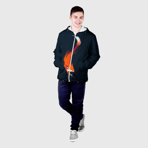 Мужская куртка 3D  Фото 03, Хитрая лисичка
