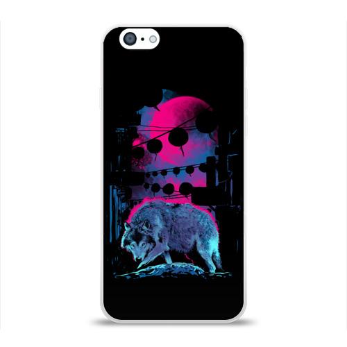 Чехол для Apple iPhone 6 силиконовый глянцевый  Фото 01, Wolf Town