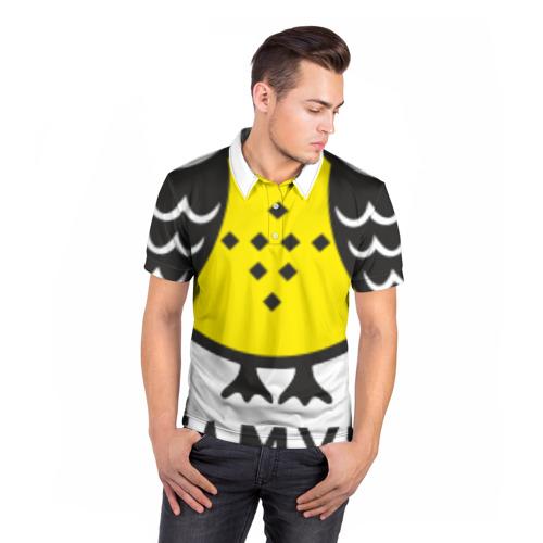 Мужская рубашка поло 3D  Фото 05, Сова. Патамушта вот так!
