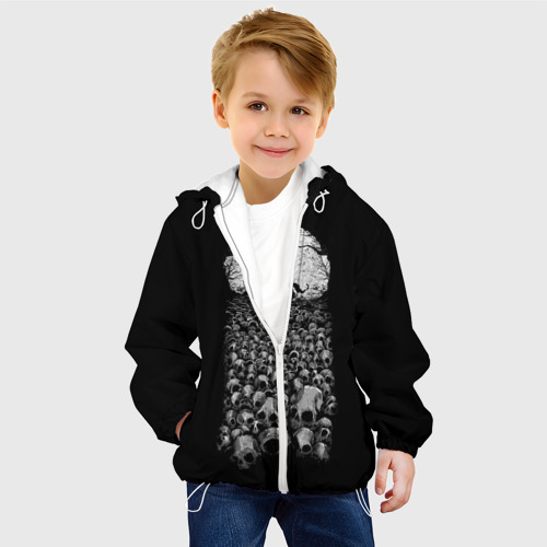 Детская куртка 3D  Фото 03, Лунный охотник