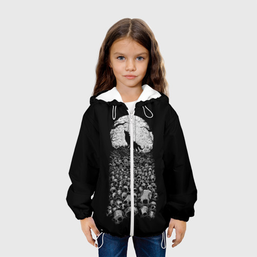 Детская куртка 3D  Фото 04, Лунный охотник