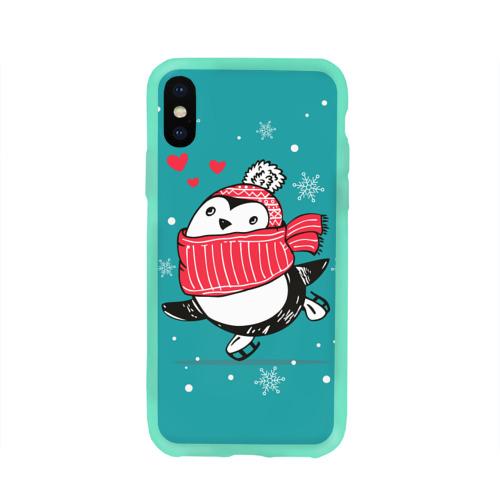 Пингвинчик на коньках