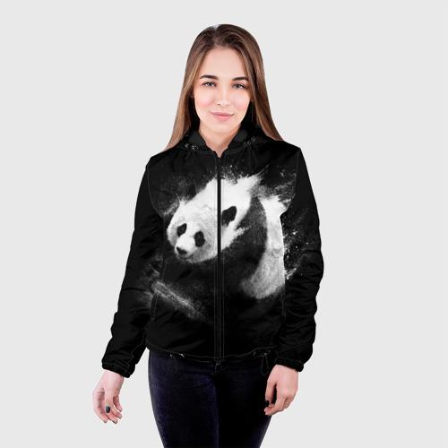 Женская куртка 3D  Фото 03, Молочная панда