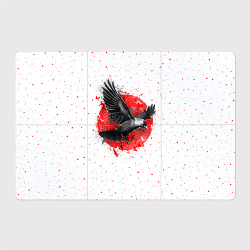 Магнитный плакат 3Х2  Фото 01, Черный ворон