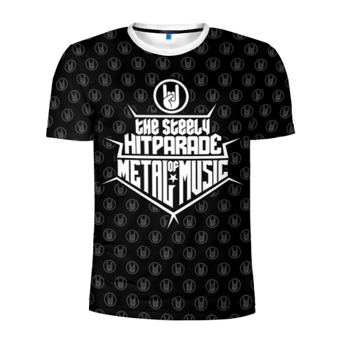 Мужская футболка 3D спортивная  Фото 01, Hitparade of Metal Music