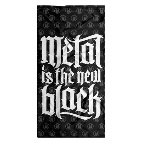Бандана-труба 3D  Фото 07, Metal is the new Black