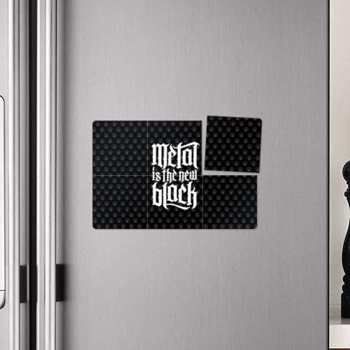 Магнитный плакат 3Х2  Фото 04, Metal is the new Black